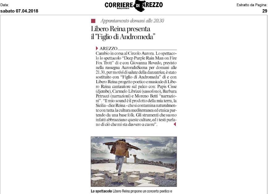 La Nazione - Arezzo 2018